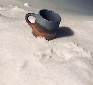 snowy mug up