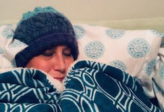snug in bed
